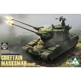 TAKOM TAKOM - Chieftain Marksman SPAAG - British Air Defence Weapon System - 1:35