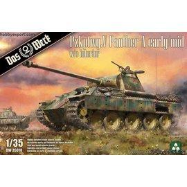 """Das Werk Das Werk - Sd.Kfz. 171 PzKpfw. V """"Panther"""" Ausf. A early/mid - 1:35"""