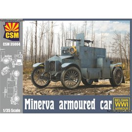 Copper State Models Copper State Models - Minerva Armoured car - 1:35
