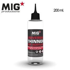 MIG MIG - Universalverdünner f. Acrylfarben - Universal Thinner for Acrylics