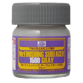 Mr. Hobby Mr. Hobby - Mr. Finishing Surfacer 1500 grey - Spritzfüller, fein - grau