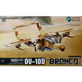Kitty Hawk Kitty Hawk - Rockwell OV-10D Bronco - 1:32