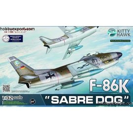 Kitty Hawk Kitty Hawk - North American F-86K Sabre Dog - 1:32