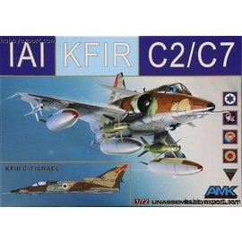 AMK - Avantgarde Model Kits AMK - IAI Kfir C2/C7 - 1:72