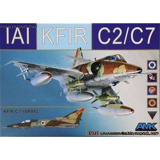 AMK - Avantgarde Model Kits IAI Kfir C2/C7 - 1:72