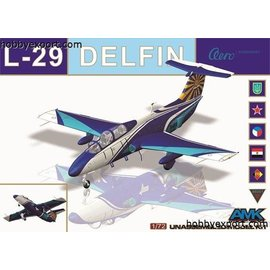 AMK - Avantgarde Model Kits AMK - Aero L-29 Delfin - 1:72