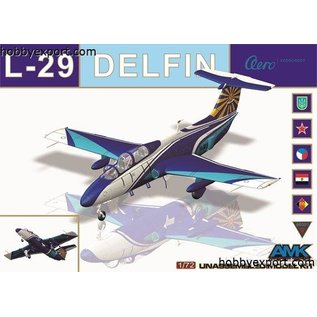 AMK - Avantgarde Model Kits Aero L-29 Delfin - 1:72