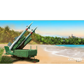 """Trumpeter Trumpeter - Soviet 5P71 Launcher with 5V27 Missile Pechora - SA-3B """"Goa"""" - 1:35"""