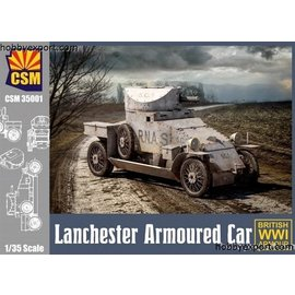 Copper State Models Copper State Models - British Lanchester Armoured car - 1:35