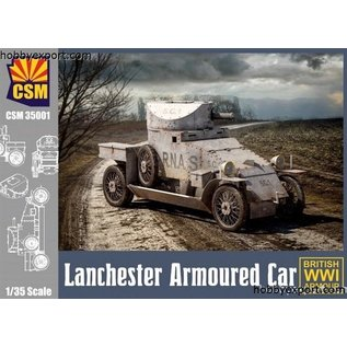 Copper State Models British Lanchester Armoured car - 1:35