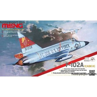 MENG Convair F-102A (Case X) - 1:72