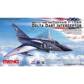 MENG MENG - CONVAIR F-106A Delta Dart Interceptor  - 1:72
