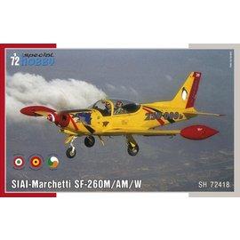 Special Hobby Special Hobby - SIAI-Marchetti SF-260M/AM/W - 1:72