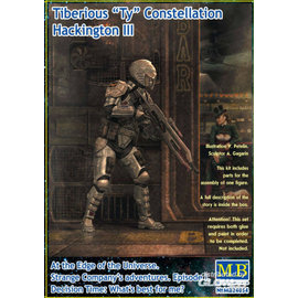 "Master Box Master Box - Tiberius ""TY"" Constellation Hackington III - 1:24"