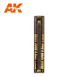 AK Interactive AK Interactive - Brass Pipes 0,2mm - Messing-Stab 0,2mm