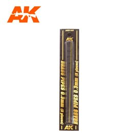 AK Interactive AK Interactive - Brass Pipes 0,3mm - Messing-Stab 0,3mm