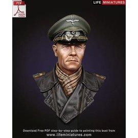 Life Miniatures Life Miniatures - Rommel - Der Wüstenfuchs - 1:10