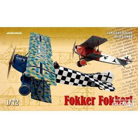Eduard Eduard - Fokker Fokker! Limited Edition Dual Combo - 1:72
