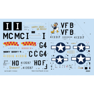 Eduard North American P-51D-5 - Weekend Edition - 1:48