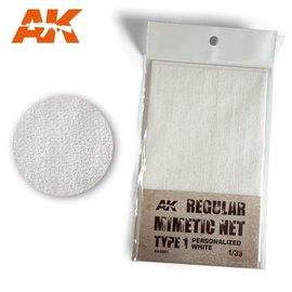AK Interactive AK Interactive - Tarnnetz, modern Typ 1 weiß - 1:35
