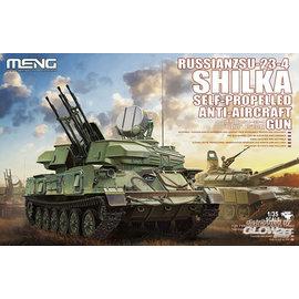 MENG MENG - Russian ZSU-23-4 Shilka Self-Propelled Anti-Aircraft Gun - 1:35