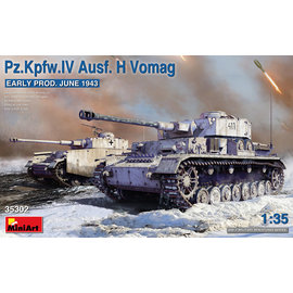 MiniArt MiniArt - Pz.Kpfw.IV Ausf. H Vomag. Early Prod. (June 1943) - 1:35