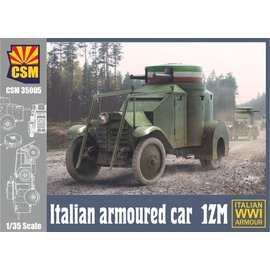 Copper State Models Copper State Models - Italian Armoured Car 1ZM WWI - 1:35