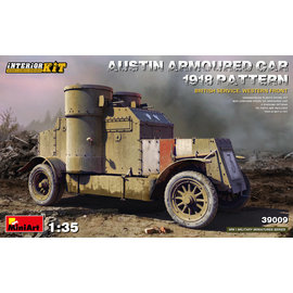 MiniArt MiniArt - Austin Armoured Car 1918 Pattern - British Service, Western Front - 1:35