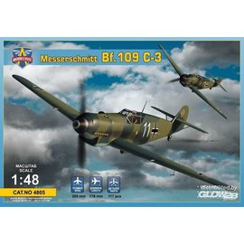 Modelsvit Modelsvit - Messerschmitt Bf109 C-3 - 1:48