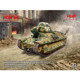 ICM ICM - FCM 36, WWII French Light Tank - 1:35