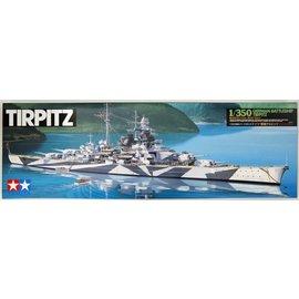 TAMIYA Tamiya - Dt. Schlachtschiff Tirpitz - 1:350
