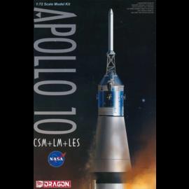 Dragon Dragon - Apollo 10 CSM/LM/LES - 1:72