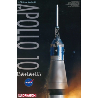 Dragon Apollo 10 CSM/LM/LES - 1:72