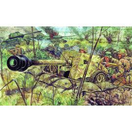 Italeri Italeri - WWII dt. Panzerabwehrkanone Pak 40 - 1:72