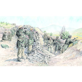 Italeri Italeri - WWII Dt. Fallschirmtruppe Trop. Unif. - 1:72