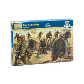 Italeri Italeri - WWII Deutsche Afrika Korps - 1:72