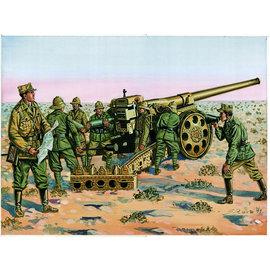 Italeri Italeri - Italienische Kanone 149/40, Kolonne - 1:72