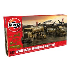 Airfix Airfix - WWII USAAF 8th Bomber Resupply Set - 1:72