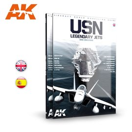 AK Interactive AK Interactive - U.S. Navy - Legendary Jets - Aircraft Scale Modelling Guide