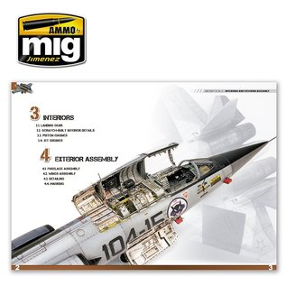 AMMO by MIG Encyclopedia of Aircraft Modelling Techniques - Vol.2 Interieurs & Assembly