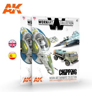 AK Interactive Worn Art Collection 02 - Chipping