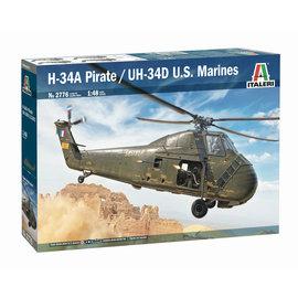 Italeri Italeri - Sikorsky H-34A Pirate / UH-34D U.S.M.C - 1:48