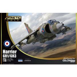 Kinetic Kinetic - Hawker Siddeley / BAE Harrier GR.1 / GR.3 - 1:48