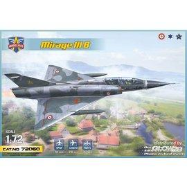 Modelsvit Modelsvit - Dassault Mirage IIIB - Operational Trainer (5 camos) - 1:72