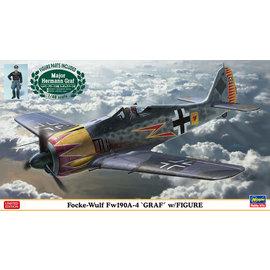 """Hasegawa Hasegawa - Focke-Wulf Fw190A-4 """"Graf"""" with Figur - Limited Edition - 1:48"""