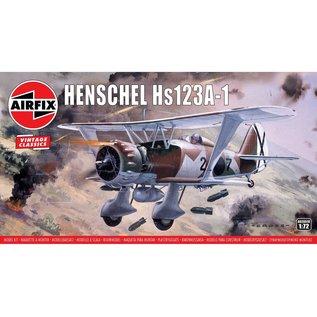 Airfix Henschel Hs123A-1 - Vintage Classic - 1:72