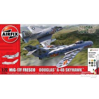 "Airfix MiG-17F ""Frresco"" & Douglas A-4B Skyhawk - Dogfight Double - 1:72"