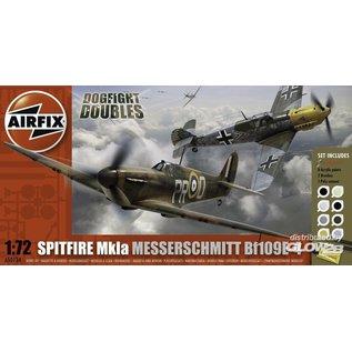 Airfix Supermarine Spitfire Mk.1a & Messerschmitt Bf109E - Dogfight Double - 1:72