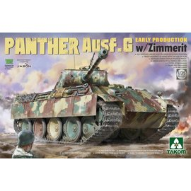 TAKOM TAKOM - Panther Ausf. G Early Production w/Zimmerit - 1:35