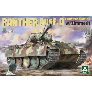 TAKOM Panther Ausf. G Early Production w/Zimmerit - 1:35